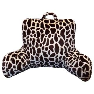 Giraffe Faux Fur Bedrest and Lounger