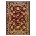 Traditional Red/ Brown Accent Rug (1'10 x 2'10)