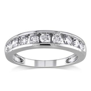 Miadora 14k Gold 3/4ct TDW Certified Diamond Wedding Band (G-H, I1-I2)