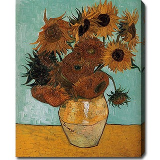 Vincent Van Gogh 'Sunflowers' Oil Canvas Art