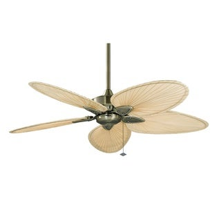 Fanimation Windpointe 52-inch Antique Brass Ceiling Fan