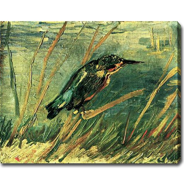 Vincent Van Gogh 'The Kingfisher' Oil Canvas Art