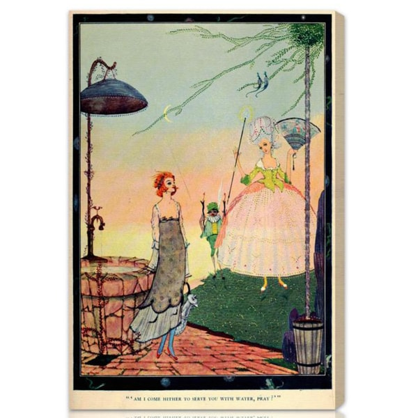 Oliver Gal 'Cinderella Fairy' Canvas Art 11177213
