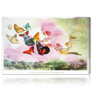 Oliver Gal 'Fairy Queen Carriage' Canvas Art