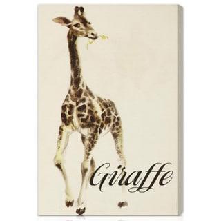 Oliver Gal 'Giraffe' Canvas Art