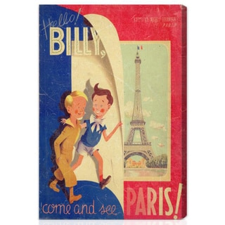 Oliver Gal 'Hello Billy' Canvas Art