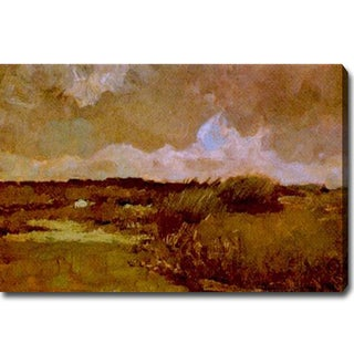 Vincent Van Gogh 'Marshy Landscape' Oil Canvas Art