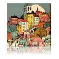 Oliver Gal 'Little Town' Canvas Art