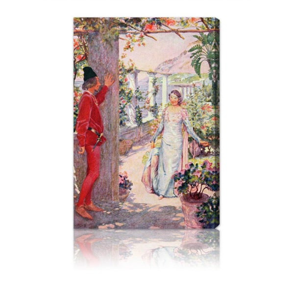 Oliver Gal 'The Prince Waits for the Princess' Canvas Art