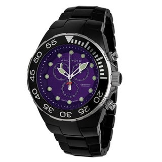 Android Men's 'Hercules' Ceramic Chronograph Watch