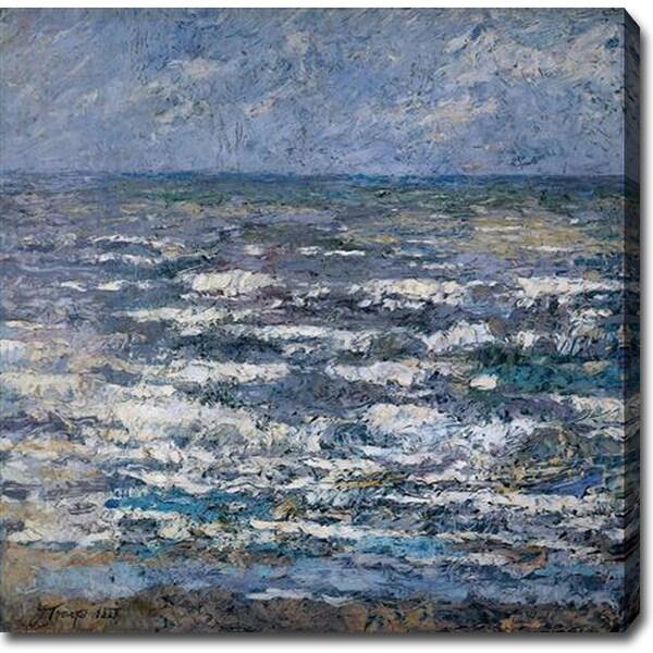 Jan Toorop 'The Sea' Oil on Canvas Art