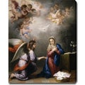 Bartolome Esteban Murillo 'Annunciation' Oil on Canvas Art