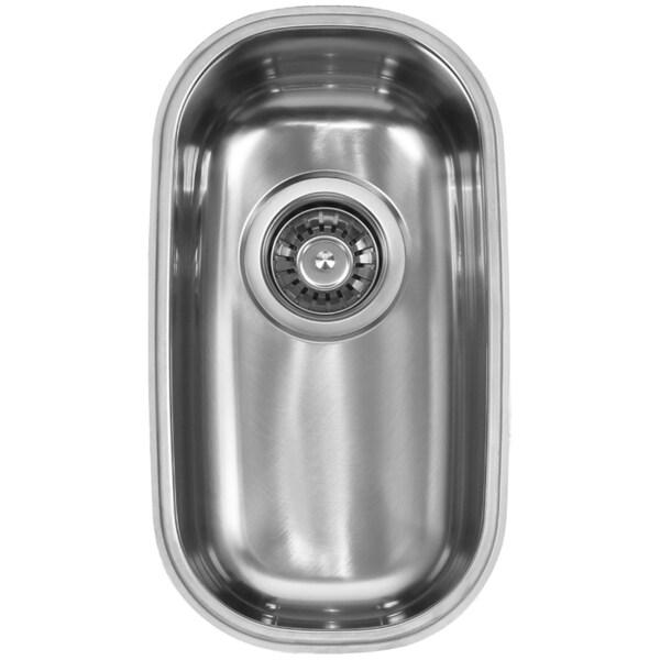 Ukinox D210 Single Basin Stainless Steel Undermount Kitchen Sink ...