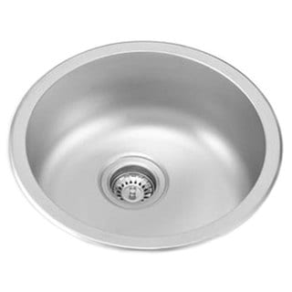 Ukinox Stainless Steel Single Bowl Dual Mount Sink