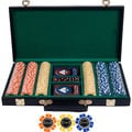 Texas Holdem Tournament 300 Poker Chips Set