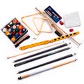 Trademark 20 Piece Complete Professional Billiard Gaming Pool Set