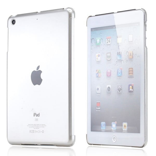 Clear iPad Mini Hard Shell Cover with Smart Cover