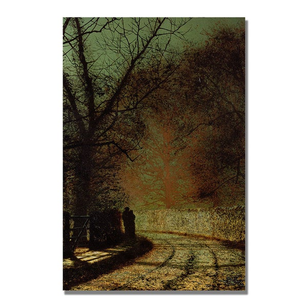 John Grimshaw 'The Lovers' Canvas Art