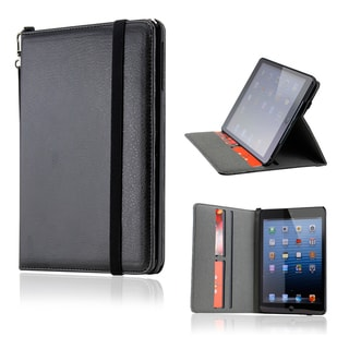 GEARONIC iPad Mini Black PU Leather Case with Smart Cover Stand