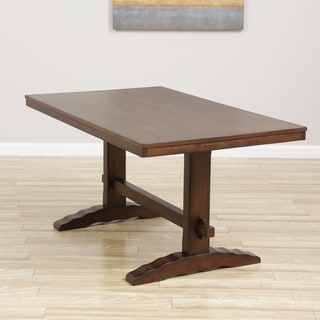 Cooper Dining Table in Deep Chocolate