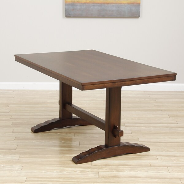 Cooper Dining Table In Deep Chocolate 80004999 Shopping G