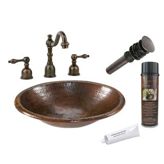 Premier Copper Products LO17RDB Widespread Faucet Package