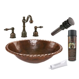 Premier Copper Products LO19RRDB Widespread Faucet Package