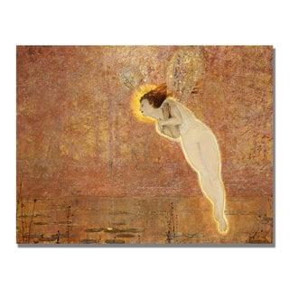 John Grimshaw 'Iris' Gallery-Wrapped Canvas Art