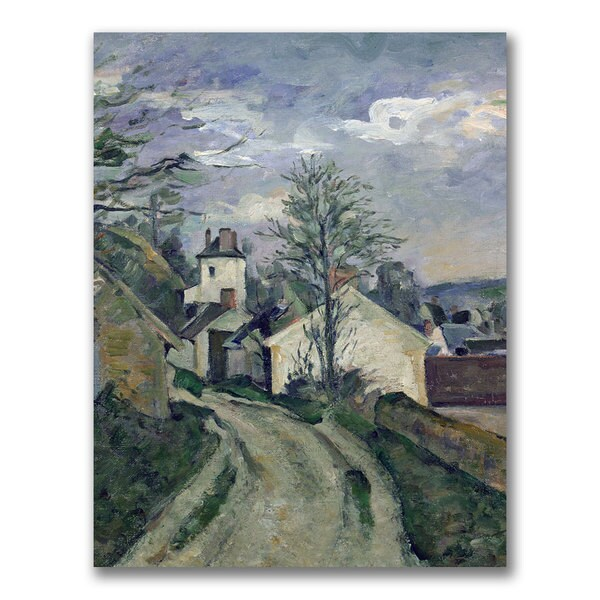 Paul Cezanne 'The House of Doctor Gachet' Canvas Art