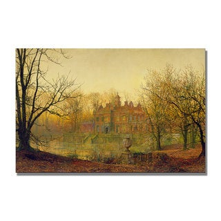 John Grimshaw 'In Sere and Yellow Leaf' Canvas Art