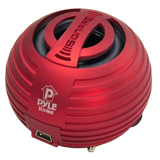 PyleHome PMS8R Speaker System - 10 W RMS - Red