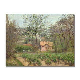 Camille Pissarro 'The Cottage' Canvas Art