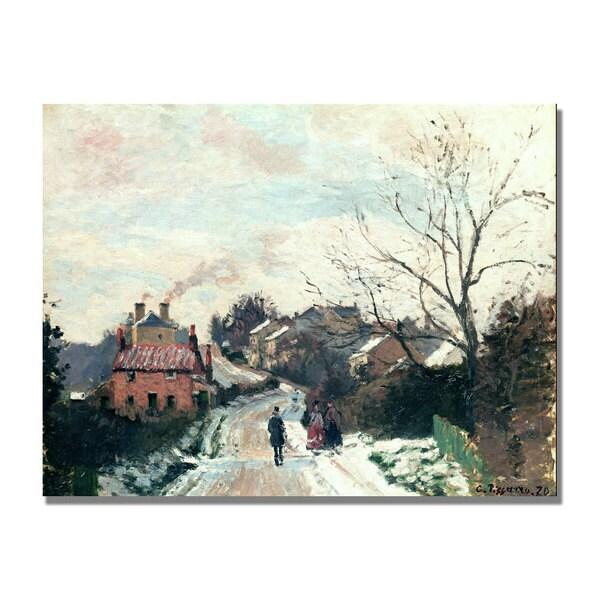 Camille Pissarro 'Fox hill Upper Norwood' Canvas Art