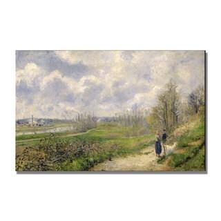 Camille Pissarro 'La Sente du Chou' Canvas Art