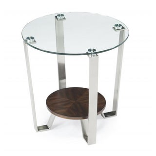 Pollock Round End Table