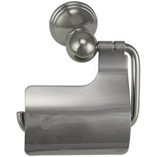 Jado Classic Victorian Platinum Nickel Hooded Toilet Paper Holder