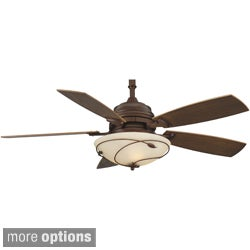 Fanimation Hubbardton Forge Leaf 54-inch 3-light Ceiling Fan