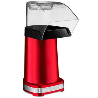 Cuisinart CPM-100MR Metallic Red EasyPop Hot Air Popcorn Maker