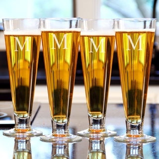 Custom Engraved Classic Pilsners (Set of 4)