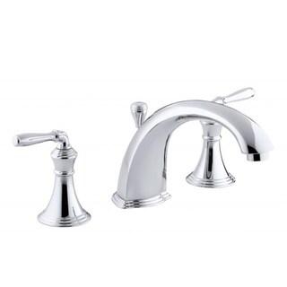 Devonshire Deck-mount Bath Faucet Trim with Lever Handles