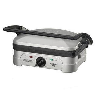 Waring Pro Stainless Steel Indoor Griddle and Panini Press