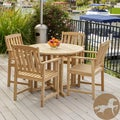 Christopher Knight Home Burbank 5-piece Outdoor Dining Set