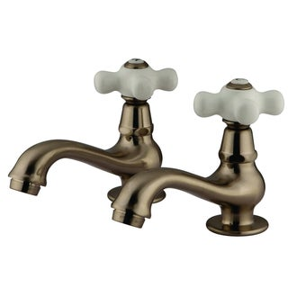 Classic Basin Satin Nickel Bathroom Faucet