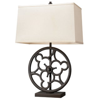 Dimond Lighting 2-Light Table Lamp in Vintage Rust Finish