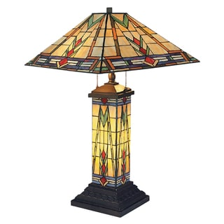 Dimond Lighting 3-Light Table Lamp in Tiffany Bronze Finish