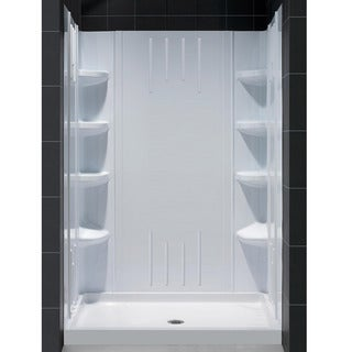 Contemporary DreamLine QWALL-3 Shower Backwalls Kit