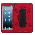 BasAcc Black/ Red Case with Stand for Apple iPad Mini