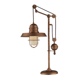 Dimond Lighting 1-light Table Lamp in Bellwether Copper Finish