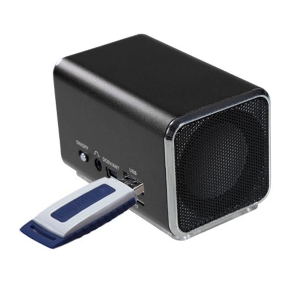 INSTEN Black Speakers for PC/ MP3 Player/ Cell Phone