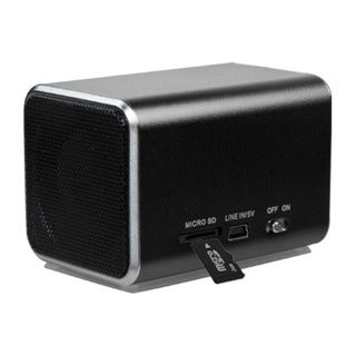 BasAcc Black Speakers for PC/ MP3 Player/ Cell Phone